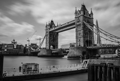Tower Bridge ND Filter (Kobi W.) Tags: ocean park street new old city uk trip travel family flowers autumn trees winter light sunset red sea summer vacation portrait england sky people urban bw food baby sun white lake holiday snow chicago black paris france color berlin green london art fall love beach nature water girl car birds animals bike yellow rock architecture kids night clouds canon river garden landscape fun photography scotland photo spring europe day photos live blackandwhiteblue