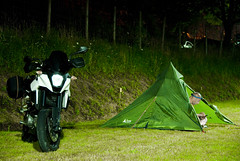 Spain_Bike trip_239 (jjay69) Tags: travel camping camp vacation holiday bike fun tents spain europe outdoor north transport relaxing engine fast lifestyle gear tent hobby supermoto ktm equipment motorbike motorcycle teepee northface vtwin powerful motorbikes interest smt enjoyment pleasure touring campsite northernspain 1000cc smalltent greathandling 2cylinders supermotot ktmsmt spanishmainland