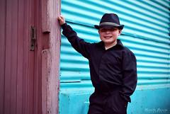 Sesión: Tango Photography (Yamila Barcia) Tags: old bw music baby streets color argentina children fun book kid buenosaires nikon colorful photographer buenos aires antique tango infantil laboca instruments antiguo caminito colorido bandoneon facundo