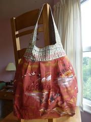 Birdie sling (:: Julie) Tags: bag vintagefabric amybutler birdiesling