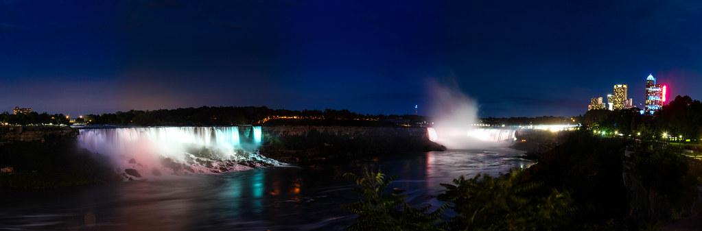 Chutes Américaines et Canadiennes - Niagara Falls 2013