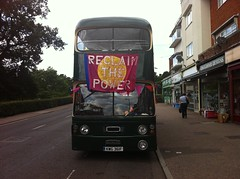 Frack Free Future bus on tour!