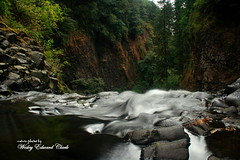 010 (Photos by Wesley Edward Clark) Tags: oregon silverton waterfalls scottsmills abiquacreek abiquafalls