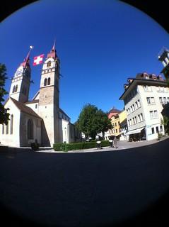 From http://www.flickr.com/photos/7737054@N07/9628602936/: Saint Laurenz Church - Winterthur