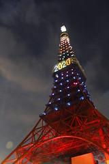 Celebrate 2020 Tokyo Olympics (TokyoNowadays) Tags: japan lights tokyo illumination tokyotower olympic olympics 2020 2020olympics