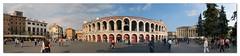 Verona Arena (nevillemangion (aka fotow+)) Tags: italy stone facade construction roman amphitheatre arena verona ala round ludi