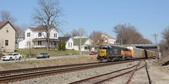 CSX8593SidneyOH3-14-12 (railohio) Tags: ohio trains sidney msoe csx d90 031412