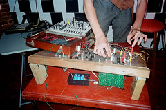 marcel du swamp (Jacob Seaton) Tags: city music diy concert md experimental live baltimore homemade synth noise synthesizer sequencer oscillator oscillation chrissheilds marcelduswamp