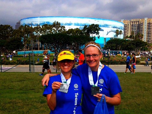 My 13th half marathon in 2013 - Thanks Team VW!