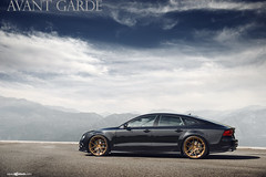 m510-bronze-audi-s7-side (AvantGardeWheels) Tags: bronze antique wheels ag finish custom audi avant garde matte s7 bespoke m510 agwheels 21x105