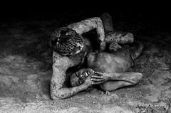 Kushti Dairies (@rup Photography) Tags: portrait india white black monochrome 35mm prime nikon mud awesome documentary varanasi wrestler tradition blackand inde benares mughal kushti akhada