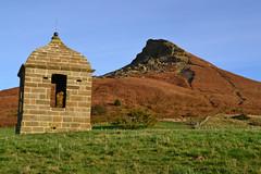 Hit The Hut (Feversham Media) Tags: yorkshire northyorkmoors nationalparks nationaltrust northyorkshire roseberrytopping northyorkmoorsnationalpark sssi siteofspecialscientificinterest clevelandsmatterhorn