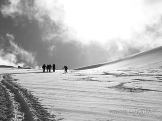 Glacier crowds
