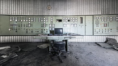 Sort it out, humans (suspiciousminds) Tags: abandoned decay urbanexploration controlpanel urbex