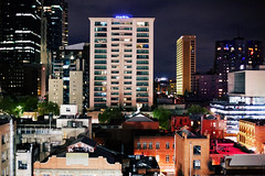Melbourne (Victoriano) Tags: city urban skyline night buildings hotel downtown australia melbourne mantra oceania