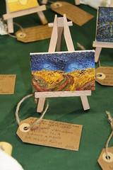 Campo di grano con volo di corvi V.Van Gogh