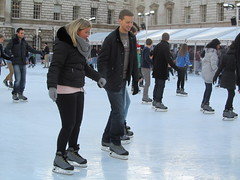 Somerset House ice rink (amy's antics) Tags: london ice skaters somersethouse