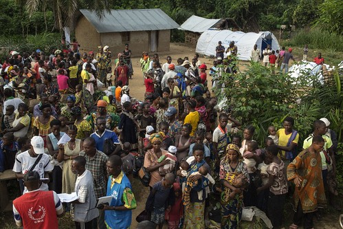 UNHCR News Story: UNHCR fears for civilians in Central African Republic as hundreds flee to DR Congo