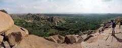Panoramablick ber die Umgebung von Hampi (Claudia L aus B) Tags: panorama karnataka indien hampi 2013 claudialeverentz