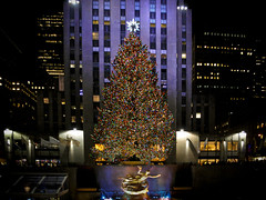 Merry Christmas (Narratography by APJ) Tags: christmas newyorkcity ny tree center rockefeller happyholidays apj narratography