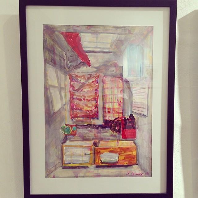 "José Gómez • ""Colectiva de Fin de Año"" #art #arte #artinlima #arteenlima #gallery #galeria #brunogallery #muestra #artist #artista #pintura #painting"