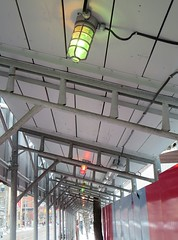 Christmas Construction Lights (Georgie_grrl) Tags: toronto ontario festive lights nice cheery merrychristmas constructionsite kingstreetwest canonpowershotelph330hs thenewdarkpinkside