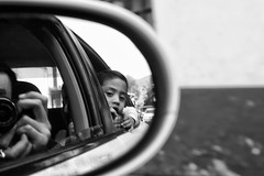 (Daniel Ivn) Tags: street camera portrait car mxico mexico ki