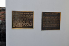 Musicians and Barbarin plaques