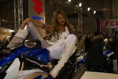 dsc09952 (themax2) Tags: girls bike expo verona motor 2009 lycra leggings promotora motorbikeexpo
