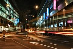 Urban night (LuiGi148.) Tags: street urban bw car canon long exposure luzern sigma f10 ghosts 28 1770 notte