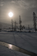 After the Storm (dbushue) Tags: winter light sun snow storm mountains nature clouds reflections river landscape nikon scenery vista yellowstonenationalpark wyoming confluence ynp 2014 blueribbonwinner coth supershot lamarriver damniwishidtakenthat dailynaturetnc13 dailynaturetnc14