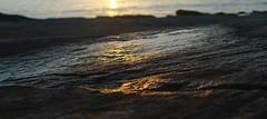Glowing rock (FotoRoar2013) Tags: winter sunset sea seascape water weather norway canon landscape evening coast stavanger interesting outdoor colorfull norwegen 7d noruega fjord norvegia sj 2014 ringexcellence fotoroar2013