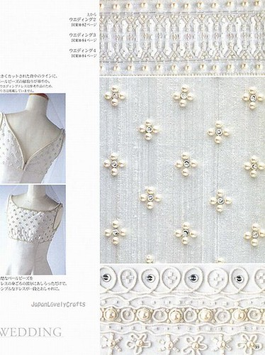 Haute Couture Beads Motif 100 - Japanese Bead Embroidery Stitch ...