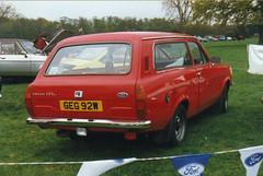 Ford Escort 1.3L Estate - GEG 92W (Andy Reeve-Smith) Tags: ford bedfordshire mk2 shuttleworth luton escort 13l lutonhoo