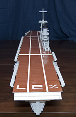 LEGO Aircraft Carrier: USS Lexington (CV 2) (Steel Navy) Tags: world sea coral model war ship lego lexington aircraft battle ii lex uss carrier cv2