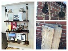 Royce Poe's hanging shelf