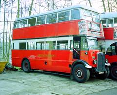 London Transport AXM693 STL441 (The original SimonB) Tags: london film buses 2000 transport scanned april cobham brooklands