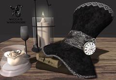 "Wicca's Wardrobe - ""Gothic Top Hat"" (Wicca Merlin / Wicca's Wardrobe) Tags: new fashion female docks 3d high discount model allen modeling space meta gothic von goth formal x sl virtual age fotos 50off oder 3dx avatarx stylex anzeigen womanx ihnen slx newx velvethat artx posex salimar couturiers peoplex secondlifex hairx modelx photographerx fashionx newsx blogx releasesx worldx clothingx wiccaswardrobe wearx jewelryx couturex modelingx virtualx bootsx pixelsx bloggerx gothichat posesx attirex formalx releasex couturierdocks wardrobex wiccas salimarx gothictophat"