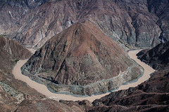 go to Shangri-La (Ray200260) Tags: china road mountain river landscape shangrila yunnan