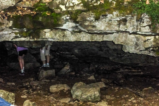 McCormick's Creek State Park - Wolf Cave - May 24, 2014