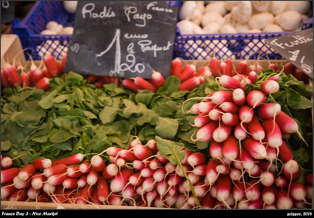 France Day 3 - Nice Morning Market