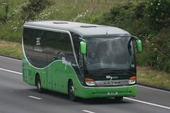 R111COR  My Coach, London (highlandreiver) Tags: bus london coach heathrow cumbria carlisle m6 coaches setra my wreay mycoach r111cor