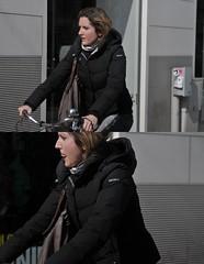 [La Mia Citt][Pedala] (Urca) Tags: portrait italia milano ciclista bicicletta 2014 pedalare 6282 dittico ritrattostradale nikondigitalefilippetta