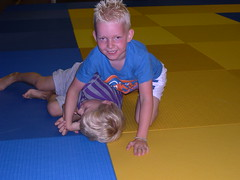 "zomerspelen 2013 Judo clinic • <a style=""font-size:0.8em;"" href=""http://www.flickr.com/photos/125345099@N08/14427407653/"" target=""_blank"">View on Flickr</a>"