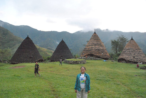 Me in Wae Rebo Village