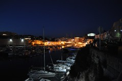 Ciutadella de Menorca (crwilliams) Tags: night spain cloudy menorca ciutadella