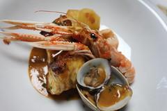 La cuina del Empordanet (Gua_Repsol) Tags: girona catalunya pescado roca catalua gerona patata tierna suquet berberechos empord empordanet catalunyaexperience guarepsol cuinaempordanet