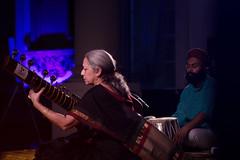 Jyoti Thakar (SAA-uk) Tags: portrait music india concert audience colourful tabla sitar jyoti southasia raag thakar leedsinspired