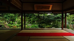 Picture-frame Garden Keishin-en / Kyoto Ohara Jiko-in (maco-nonchR(on/off)) Tags: kyoto ohara jikkoin    temple  buddhism gyozan  shorinin zen garden japan japanese september breeze peaceful lovely