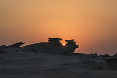 Interesting Rock formations in Al Ain, Abu Dhabi (ToTheBrighterSide) Tags: interesting rock formations al ain abu dhabi desert nature dubai natural travil sunset sun dust landscape saturation